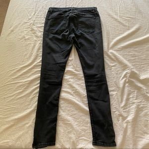 Zara Jeans - Faded Black Distressed Zara Skinny Jeans 6